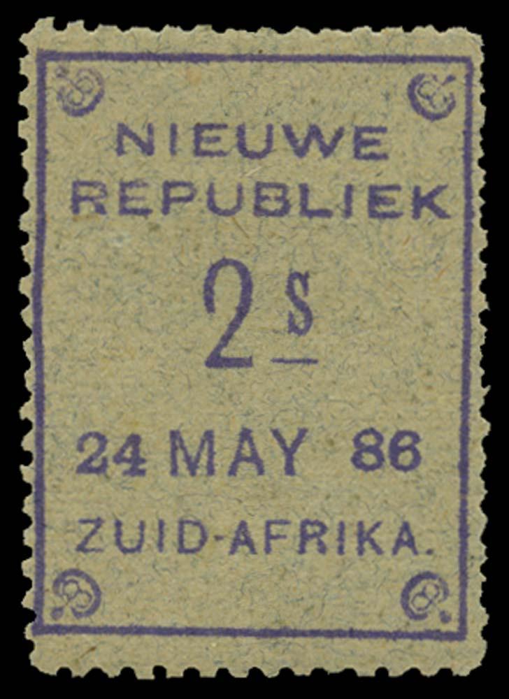 NEW REPUBLIC 1886-87  SG35 Mint