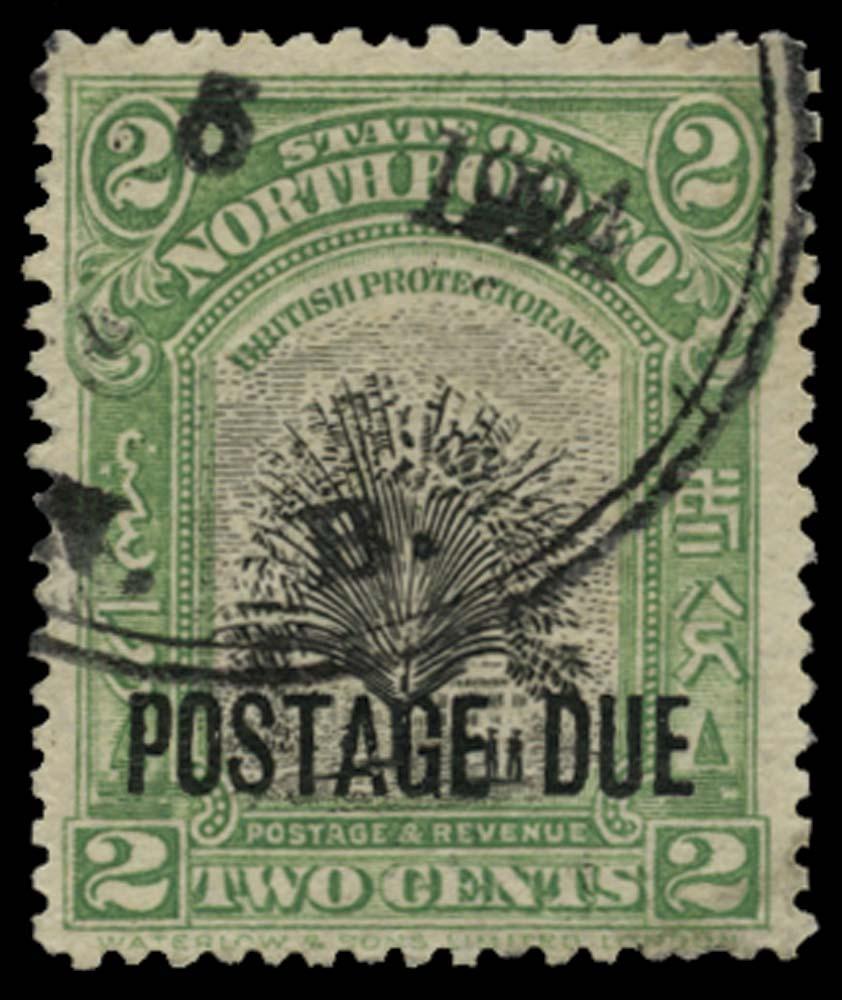 NORTH BORNEO 1918-30  SGD52 Postage Due