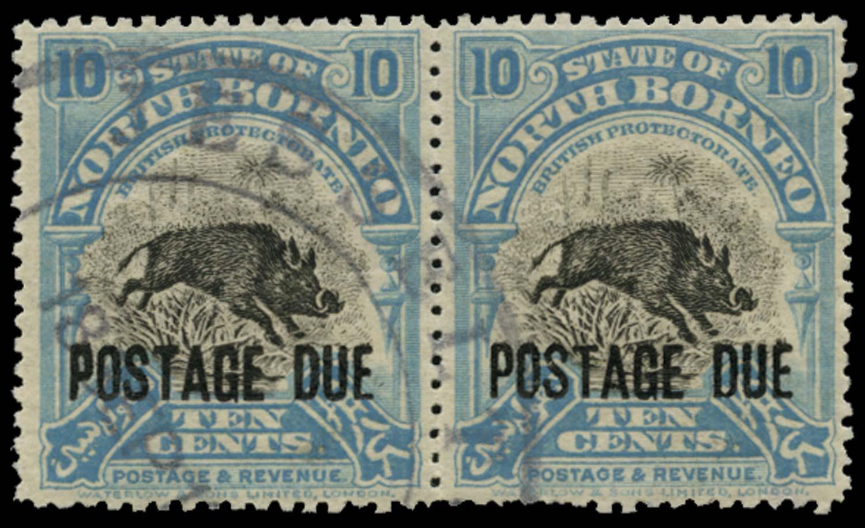 NORTH BORNEO 1918-30  SGD63 Postage Due