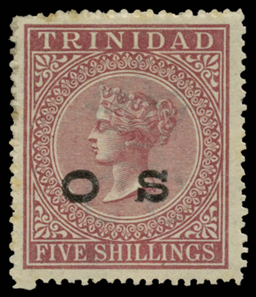 TRINIDAD 1894  SGO7 Official