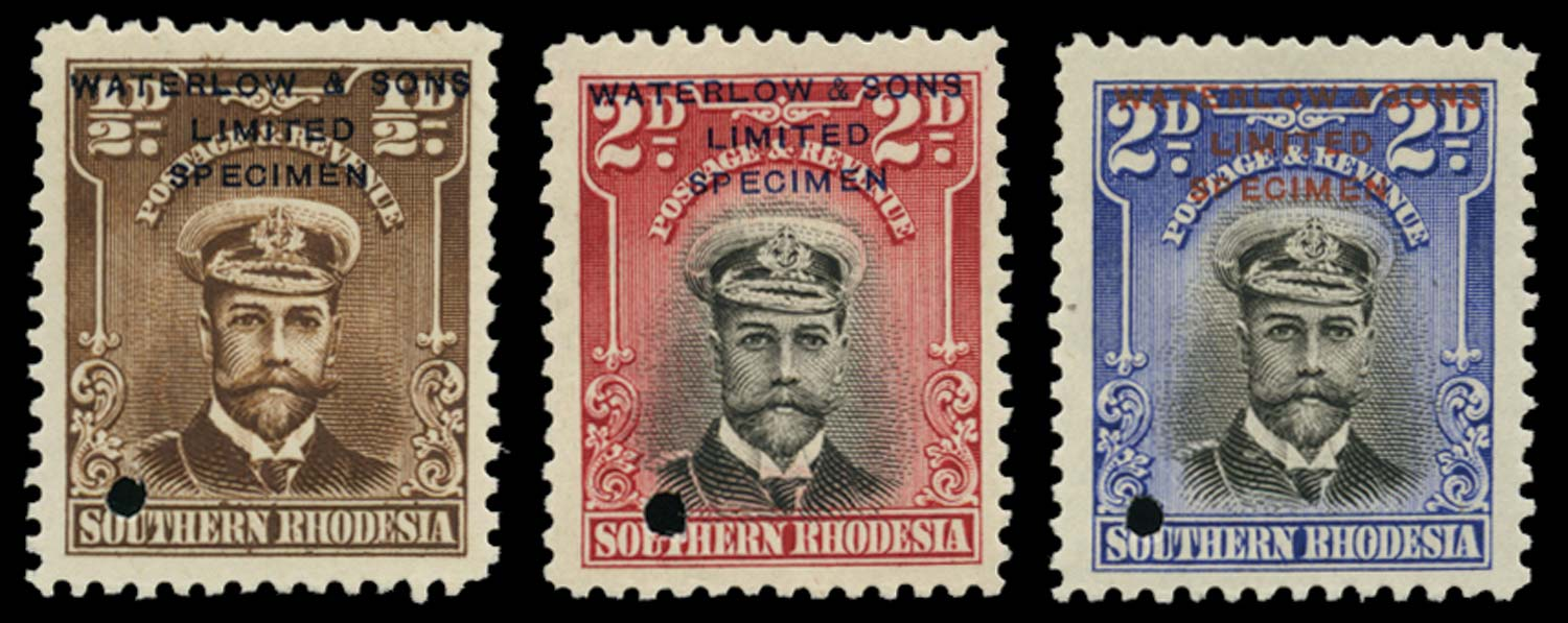 SOUTHERN RHODESIA 1924  SG1, 4 Proof