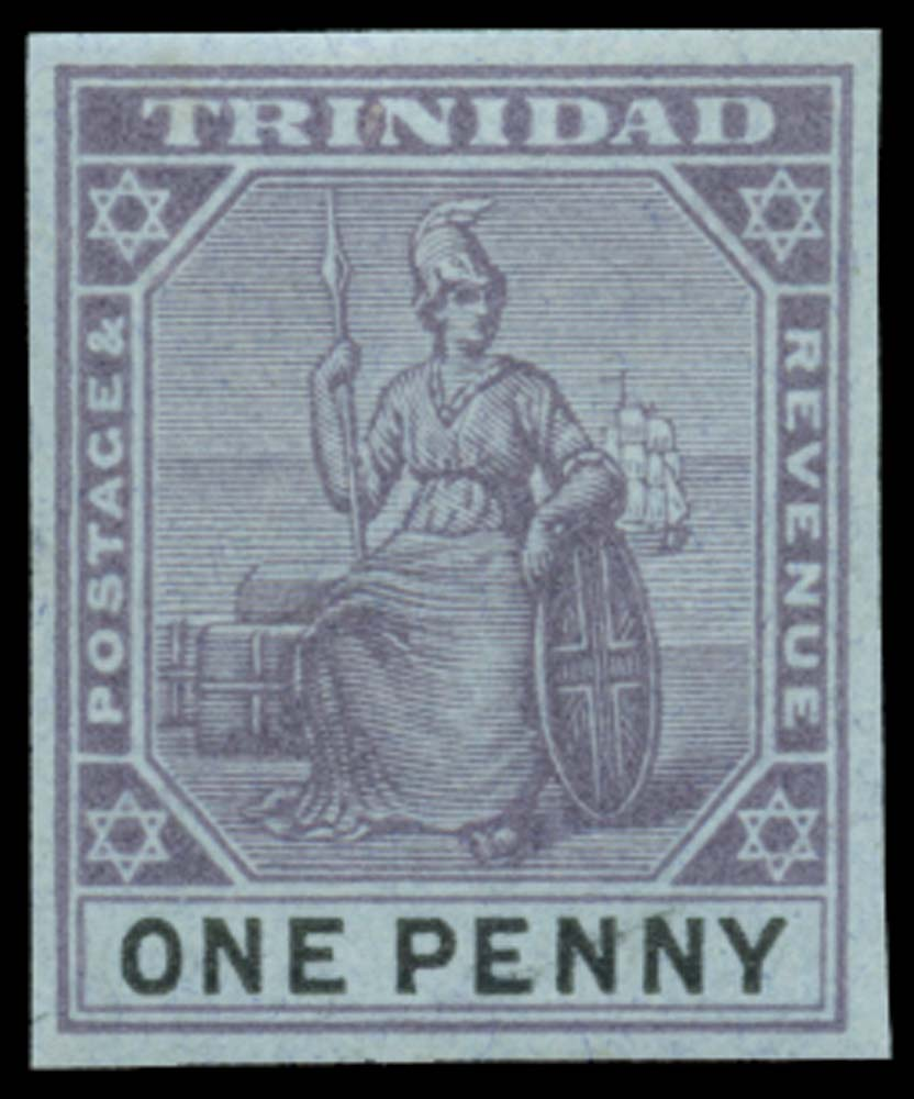 TRINIDAD 1901  SG128 Proof