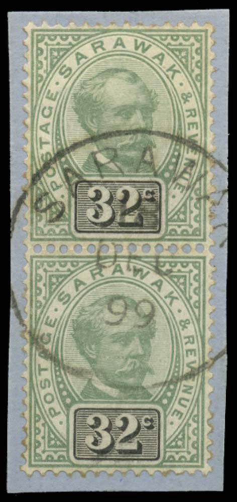 SARAWAK 1888-97  SG19 Used