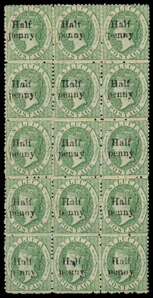 ST LUCIA 1876  SG9 Mint