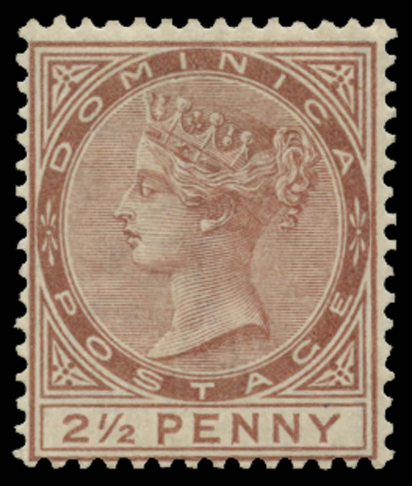 DOMINICA 1883  SG15 Mint