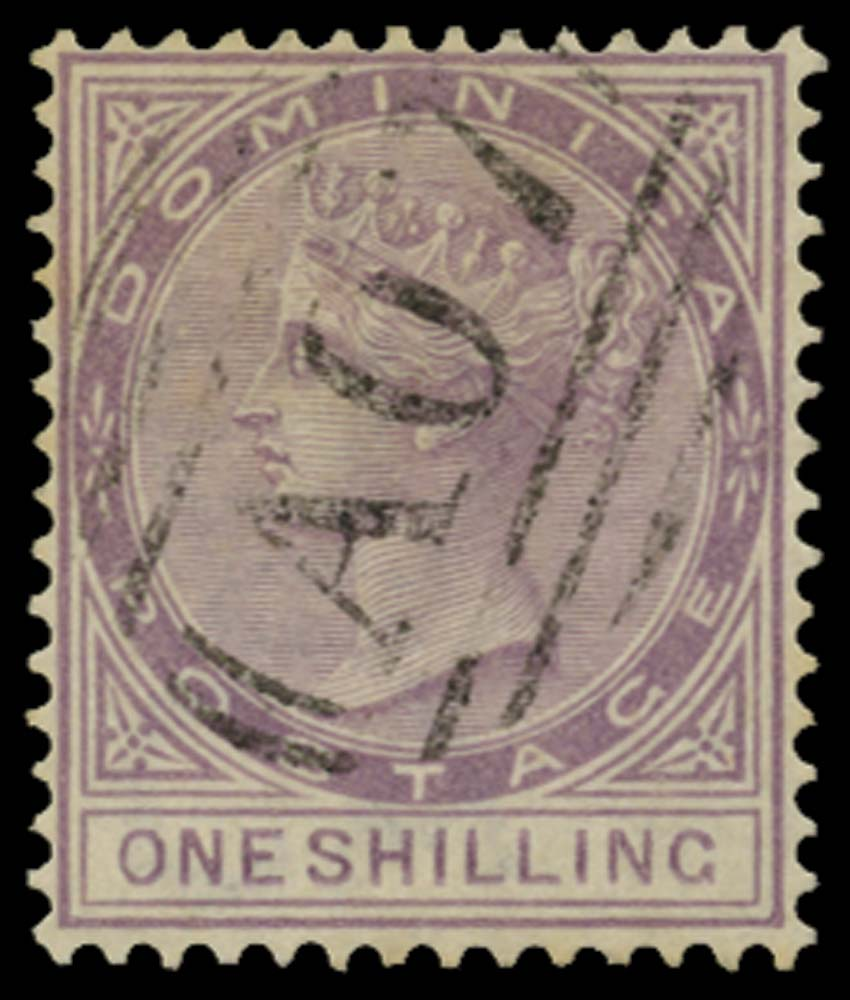 DOMINICA 1886  SG26 Used
