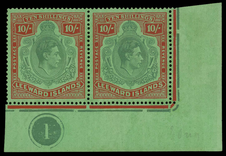 LEEWARD ISLANDS 1938  SG113 Mint