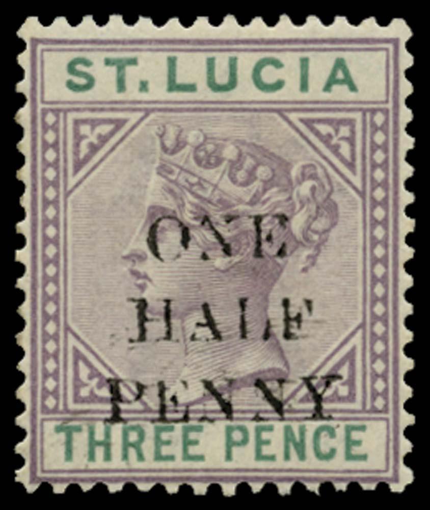 ST LUCIA 1891  SG56e Mint