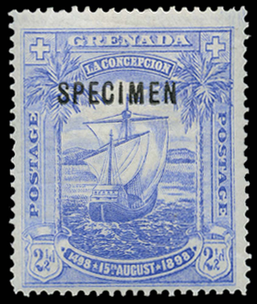 GRENADA 1898  SG56s Specimen