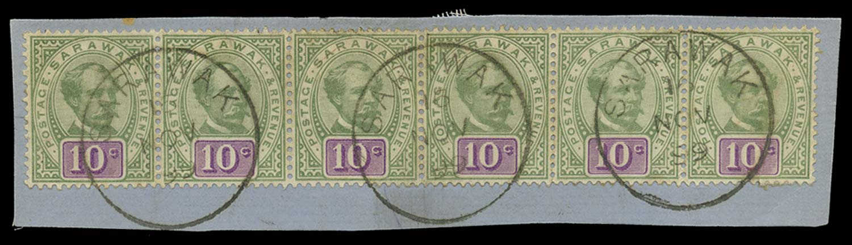 SARAWAK 1888-97  SG15 Used