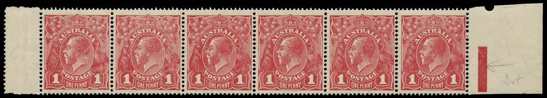 AUSTRALIA 1918  SG50/c Mint