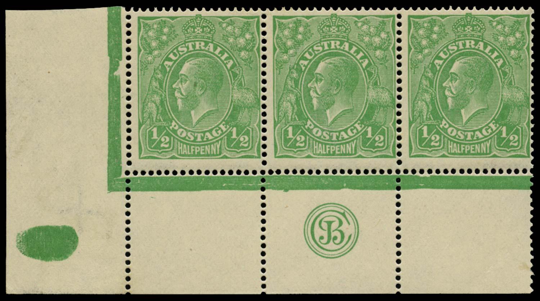 AUSTRALIA 1914  SG20 Mint