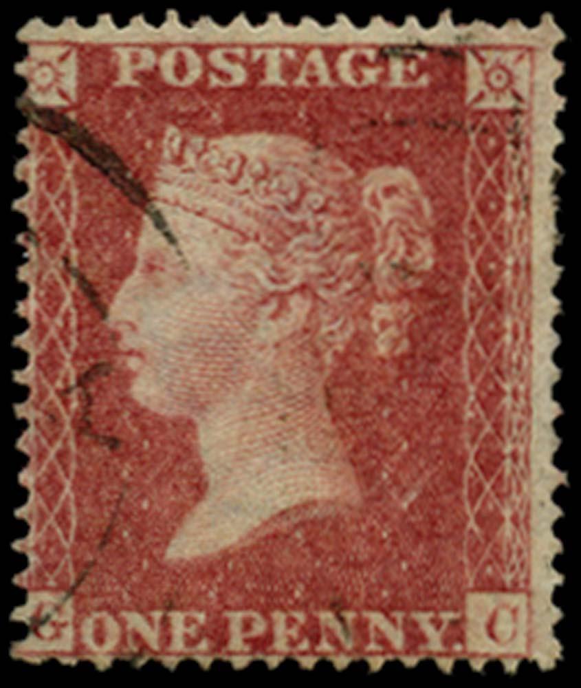 GB 1857  SG36 Pl.47 Used