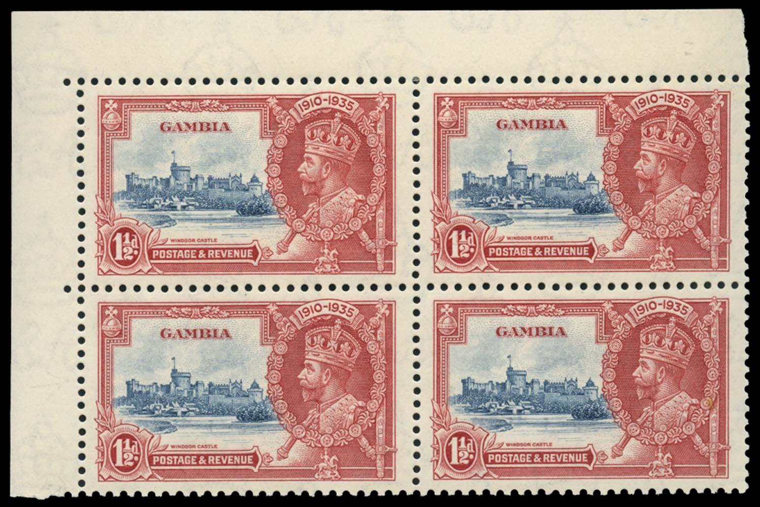 GAMBIA 1935  SG143/b Mint