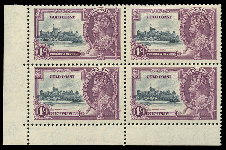 GOLD COAST 1935  SG116/a Mint