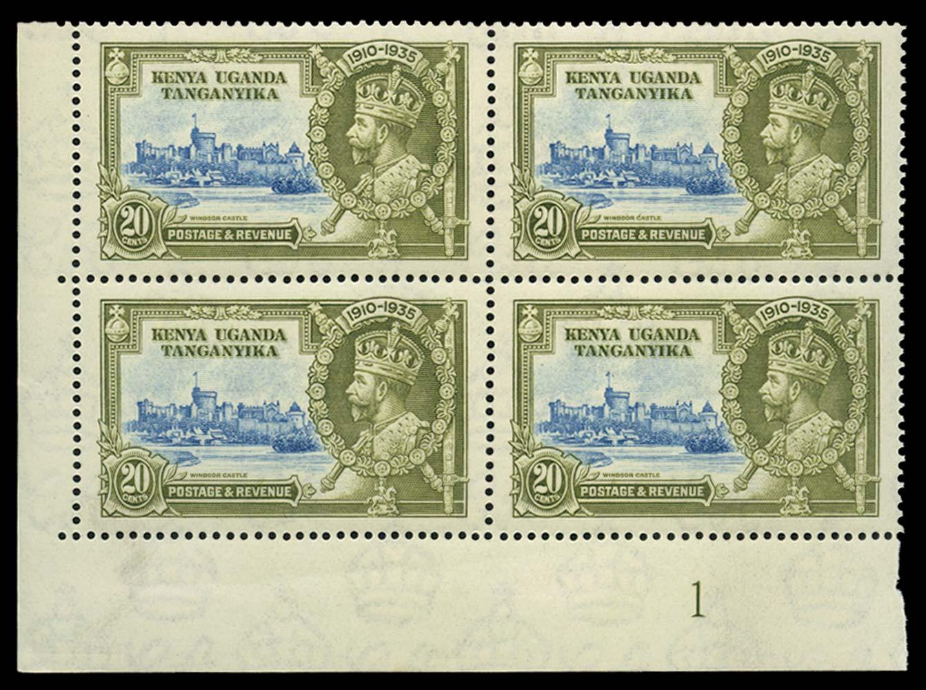 KUT 1935  SG124/f Mint