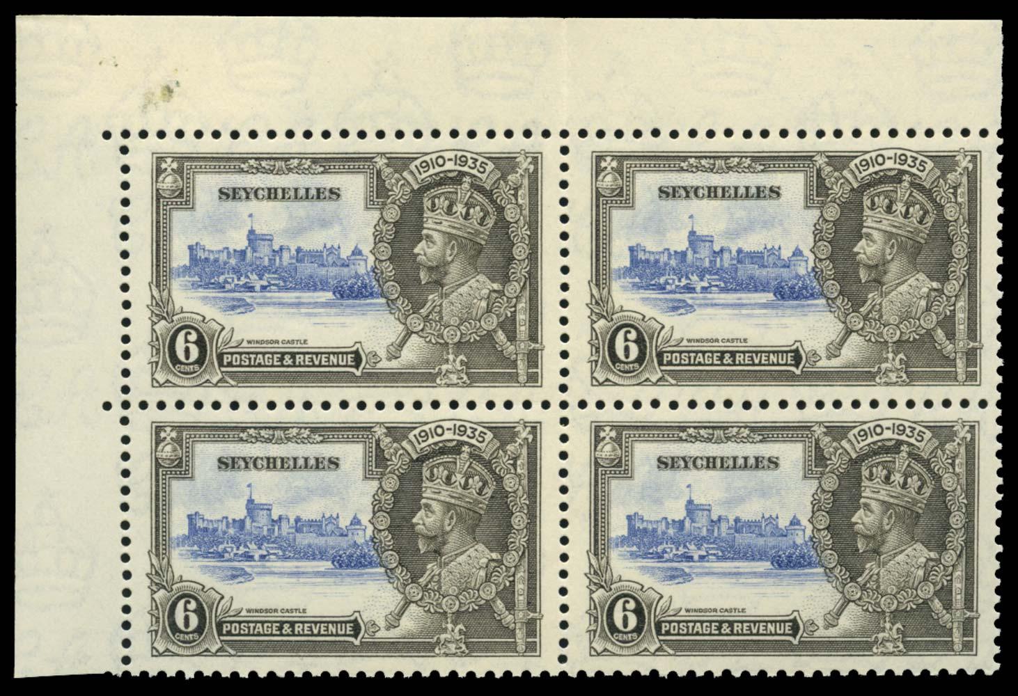 SEYCHELLES 1935  SG128/b Mint