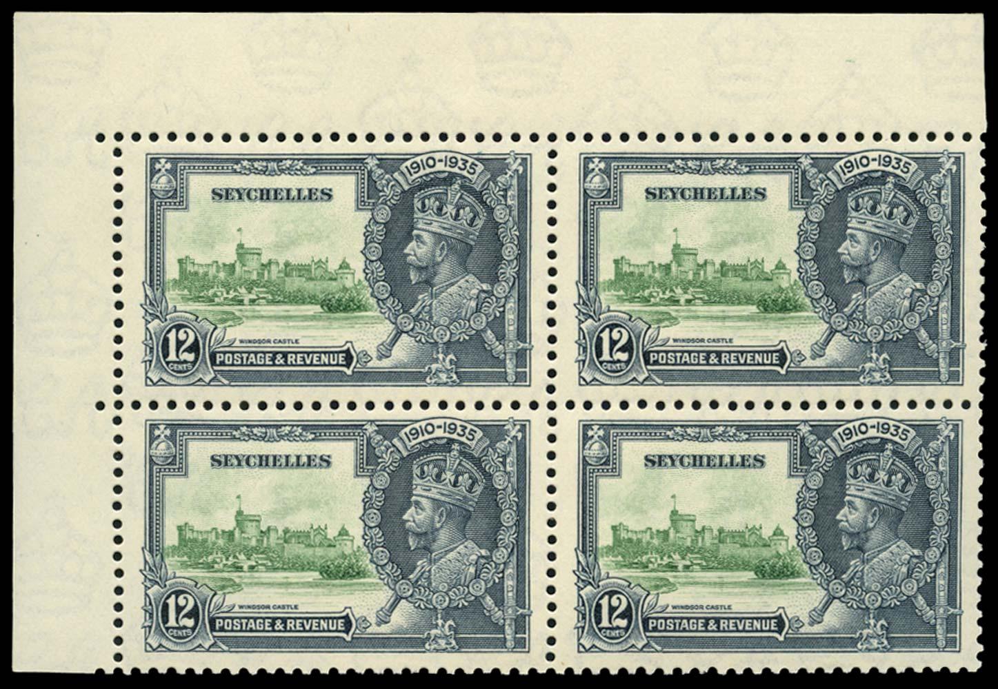 SEYCHELLES 1935  SG129/b Mint