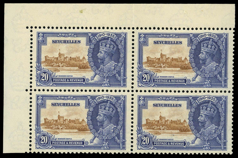 SEYCHELLES 1935  SG130/b Mint
