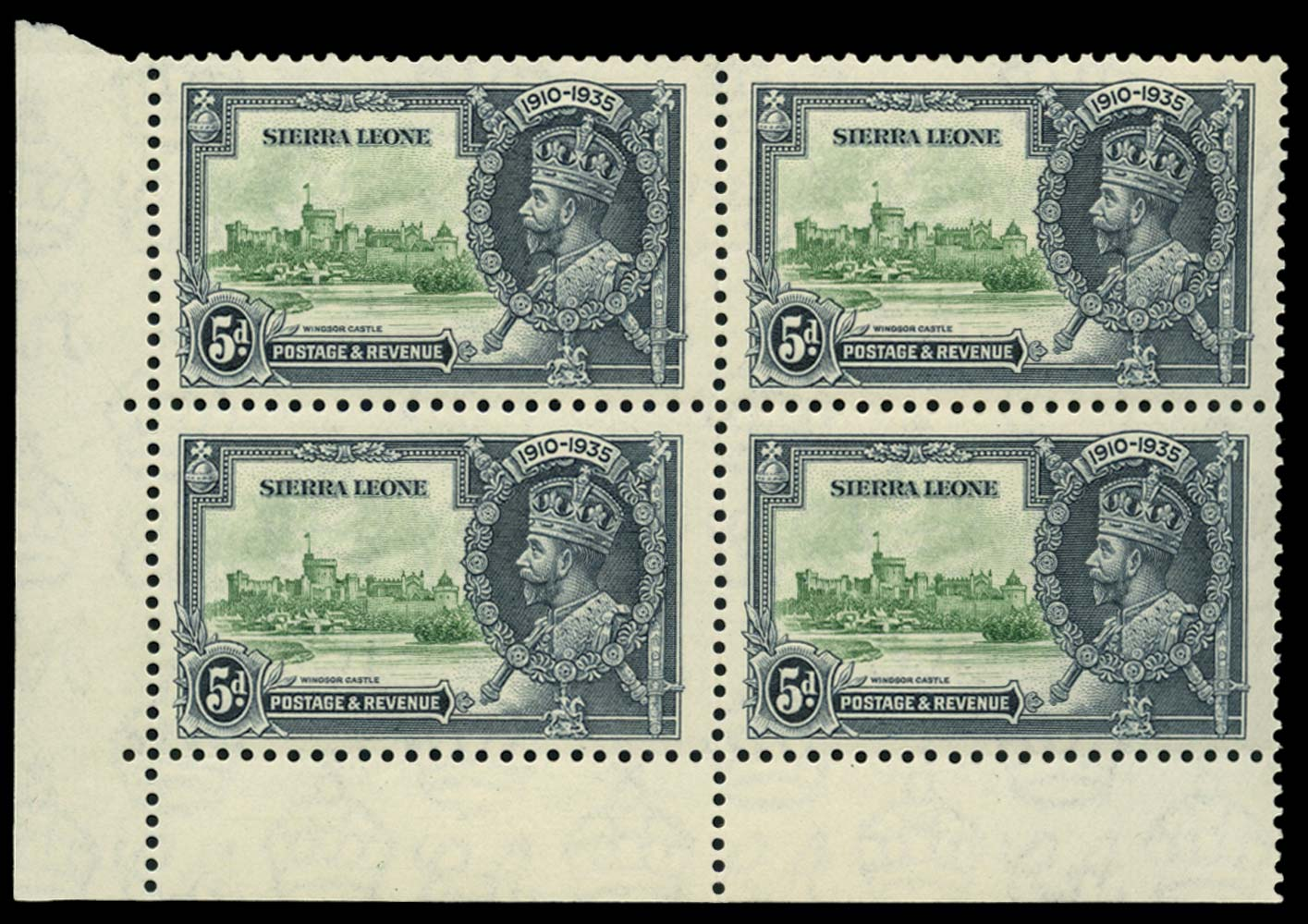 SIERRA LEONE 1935  SG183/a Mint