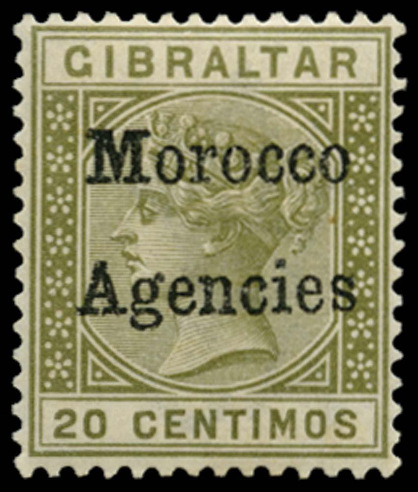 MOROCCO AGENCIES 1898-1900  SG3cd Mint