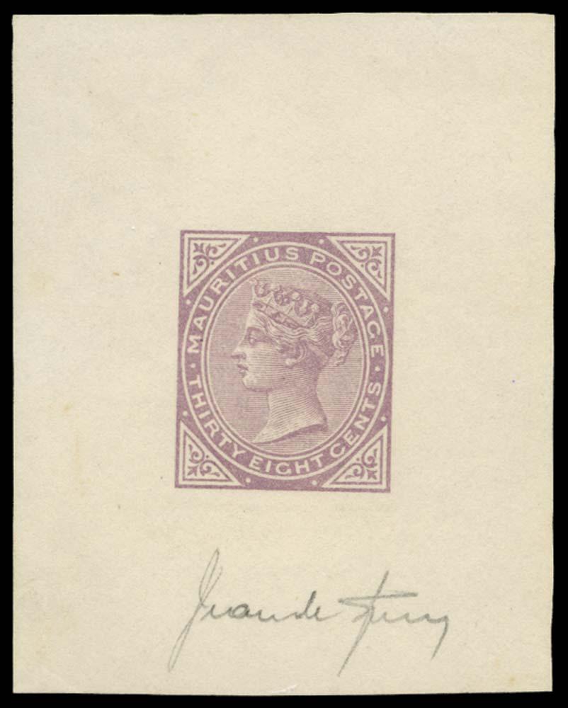 MAURITIUS 1879  SG98 Forgery