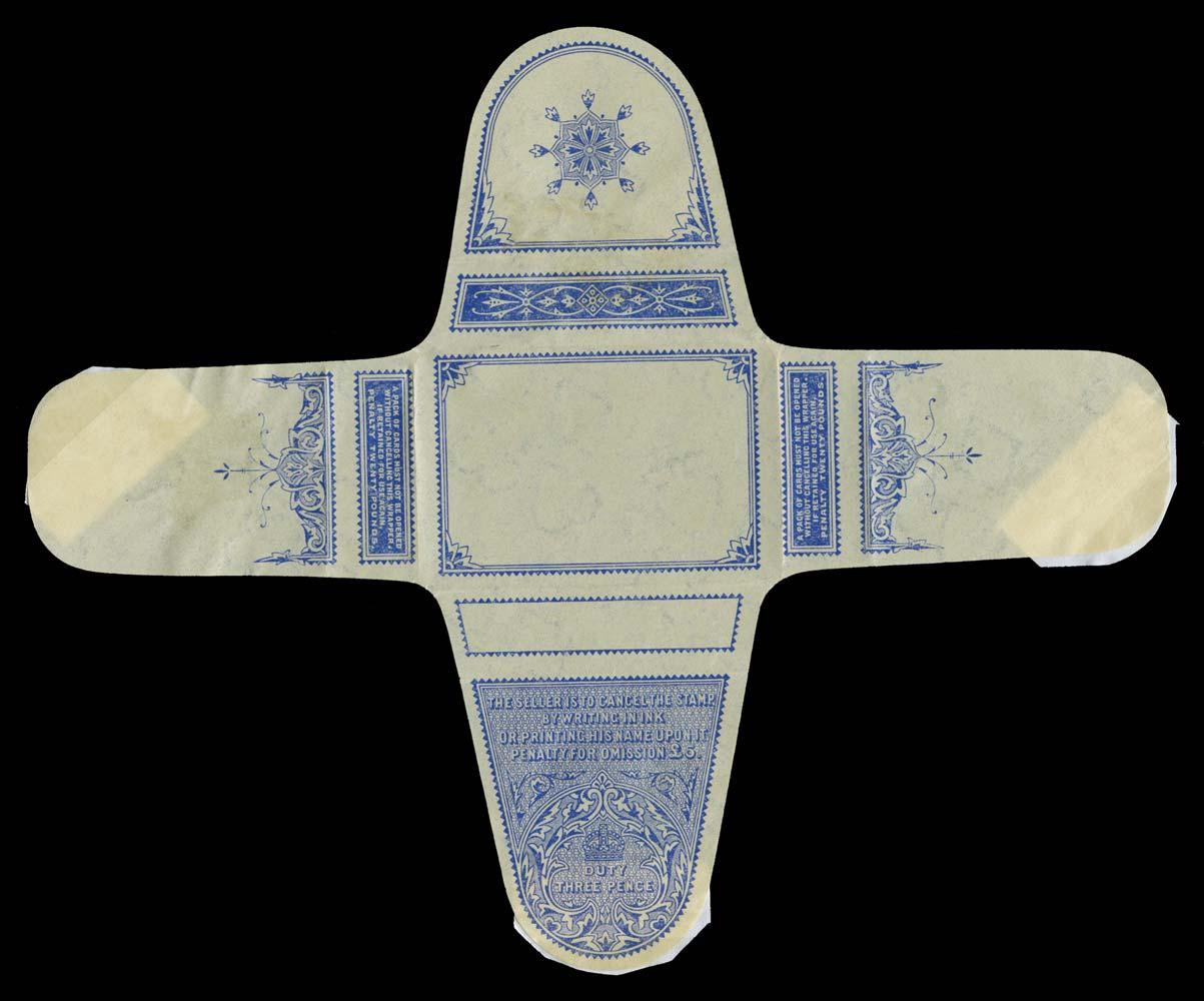 GB 1883-1952 Revenue - Playing card duty