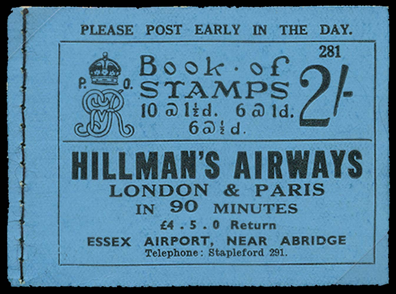 GB 1934  SGBB14 Booklet (Edition No.281)