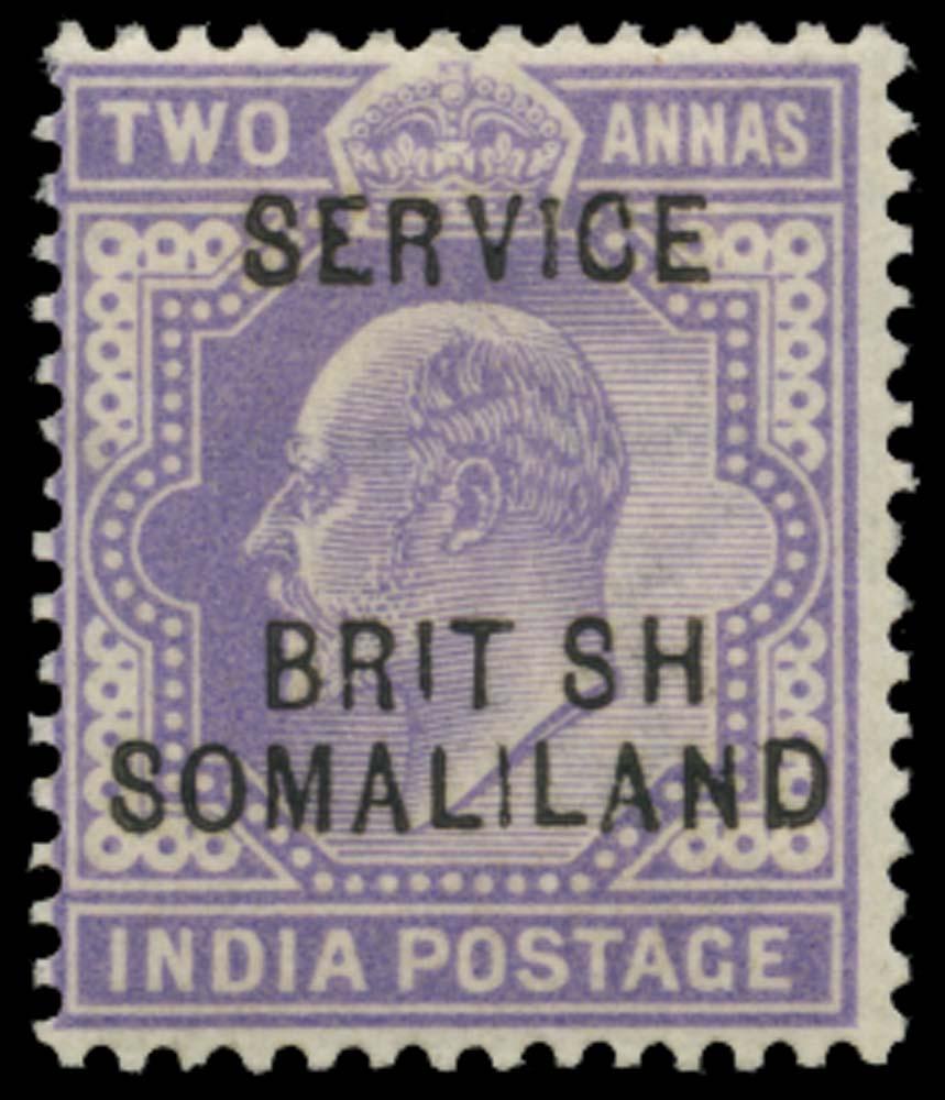 SOMALILAND PROTECT 1903  SGO8a Official