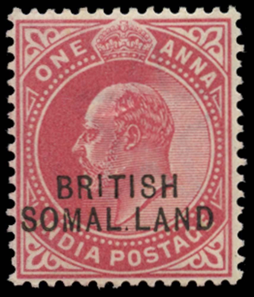 SOMALILAND PROTECT 1903  SG26d Mint
