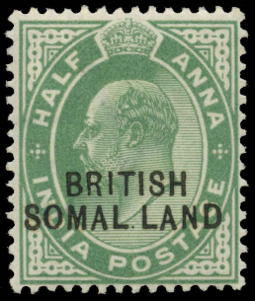 SOMALILAND PROTECT 1903  SG25d Mint
