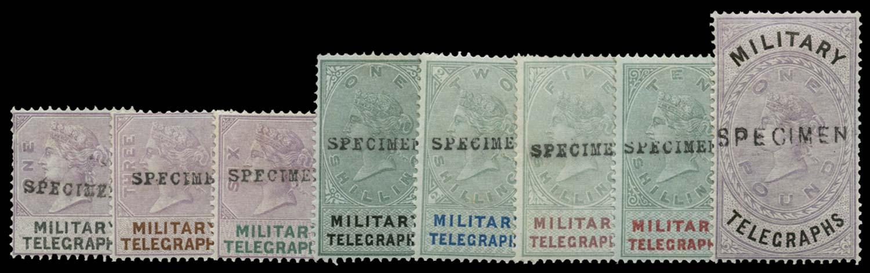 GB 1884  SGMT1/8 Telegraph