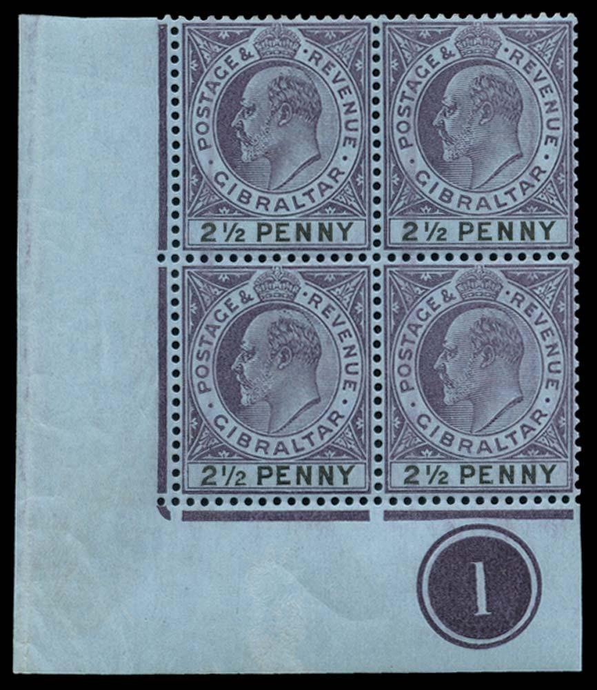 GIBRALTAR 1903  SG49/a Mint