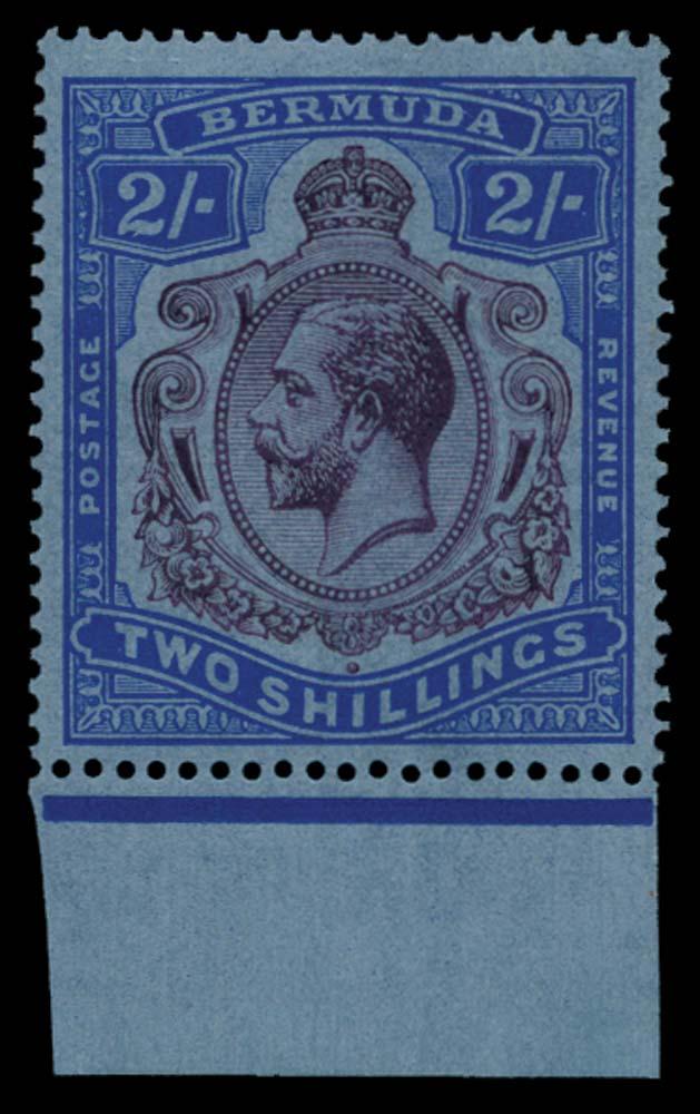 BERMUDA 1924  SG88g Mint