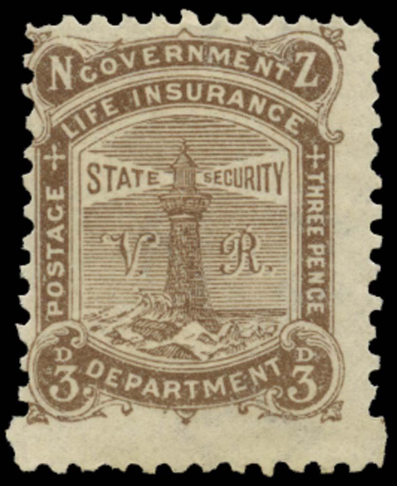 NEW ZEALAND 1891-8  SGL4 Mint