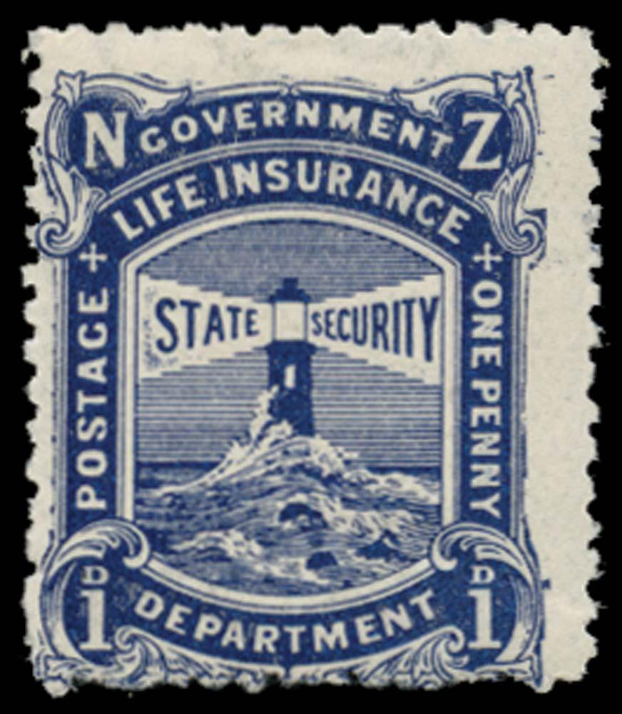 NEW ZEALAND 1905-6  SGL22 Mint