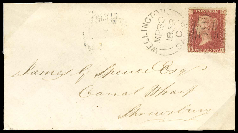 GB 1857  SG40 Pl.48 Cover