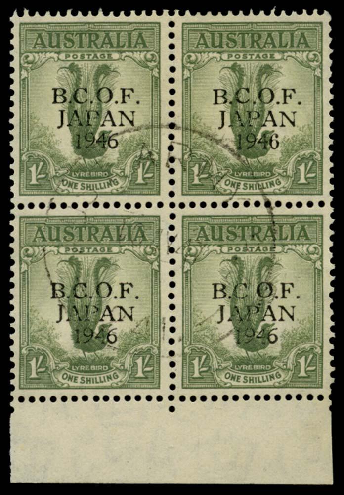 AUSTRALIA B.C.O.F. 1946  SGJ5/a Used