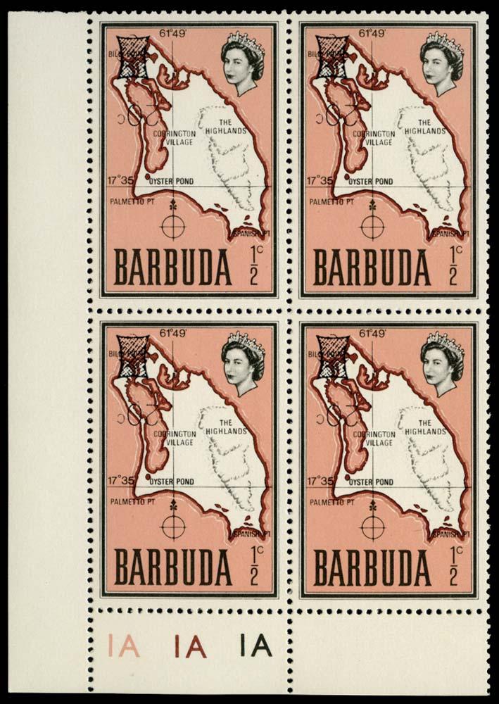 BARBUDA 1970  SG79a Mint