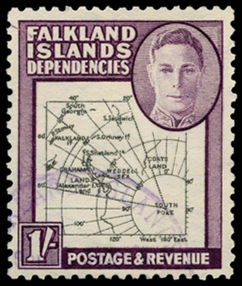 FALKLAND ISLAND DEPS 1946  SGG8c Used