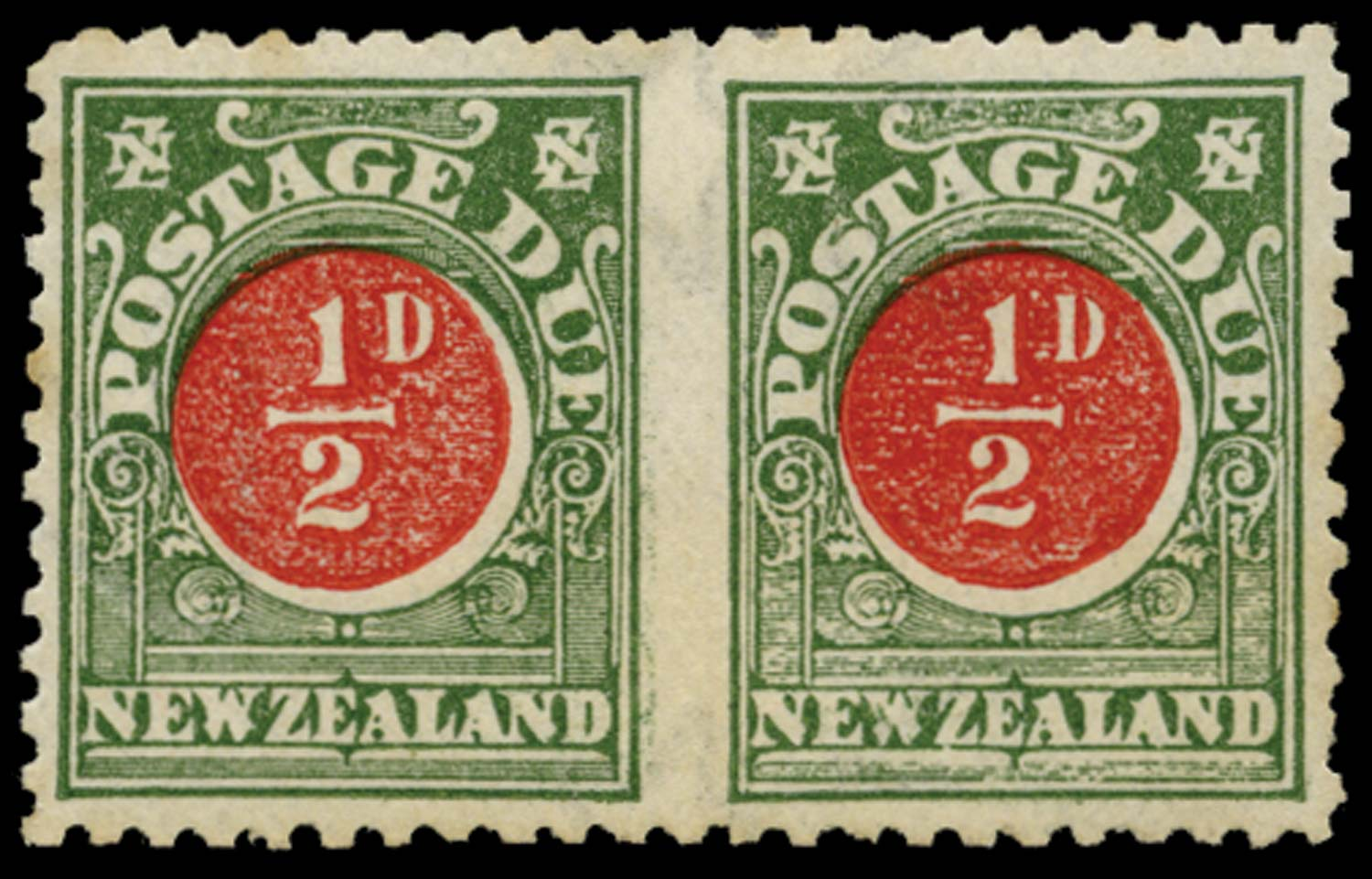 NEW ZEALAND 1904  SGD18a Postage Due