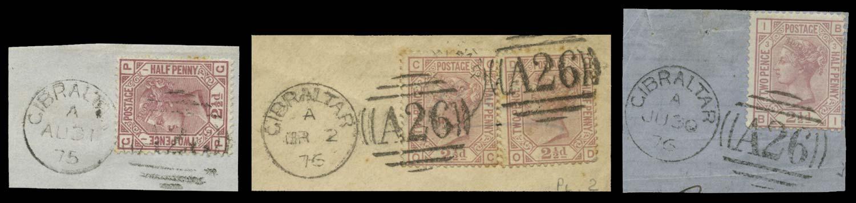 GIBRALTAR 1875  SGZ24 Cancel