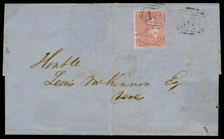 JAMAICA 1859  SGZ14 Cover