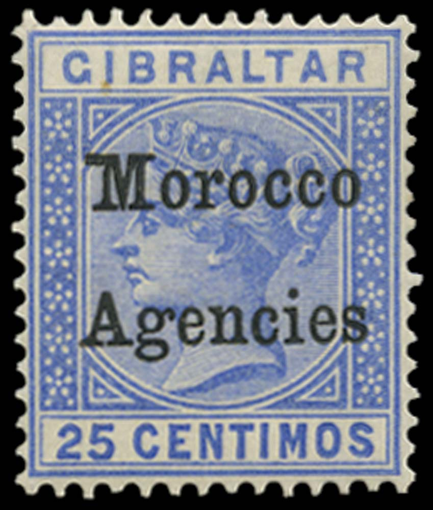 MOROCCO AGENCIES 1899  SG12b Mint