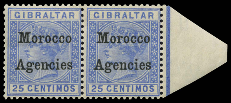 MOROCCO AGENCIES 1899  SG12/c Mint
