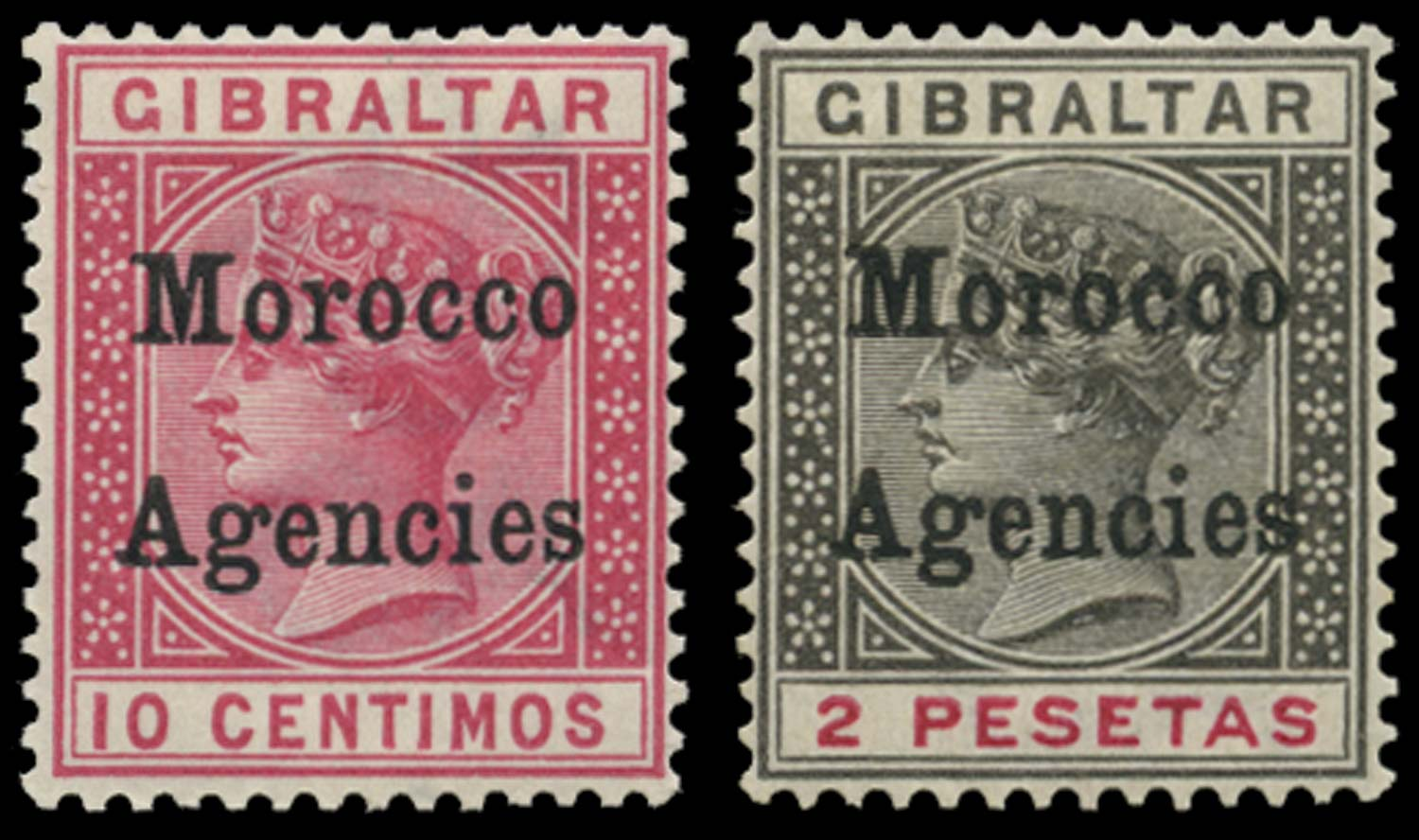MOROCCO AGENCIES 1899  SG10, 16 Mint