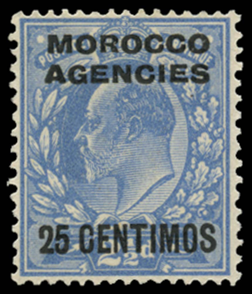MOROCCO AGENCIES 1907  SG124a Mint