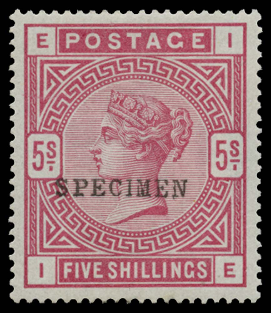 GB 1883  SG176s Specimen type 9