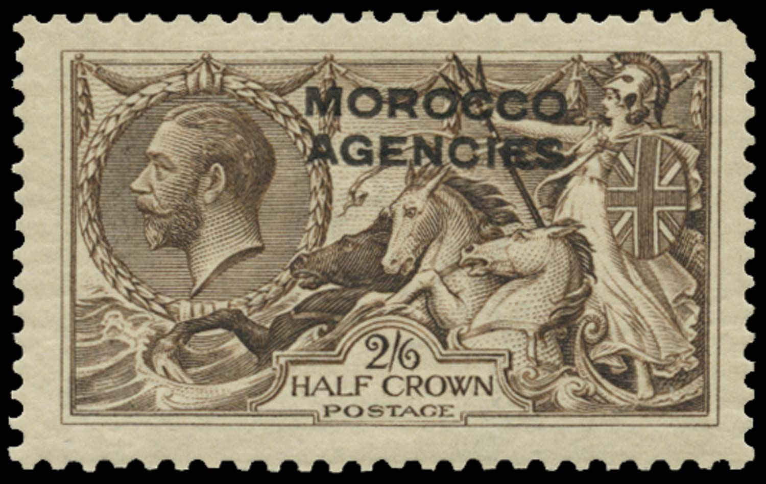 MOROCCO AGENCIES 1914  SG50b Mint