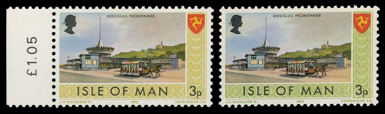 GB 1974  SG17a Mint Error of colour